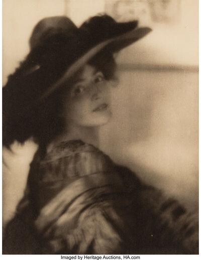 Adolf de Meyer, 'Mrs. Brown Potter', circa 1908