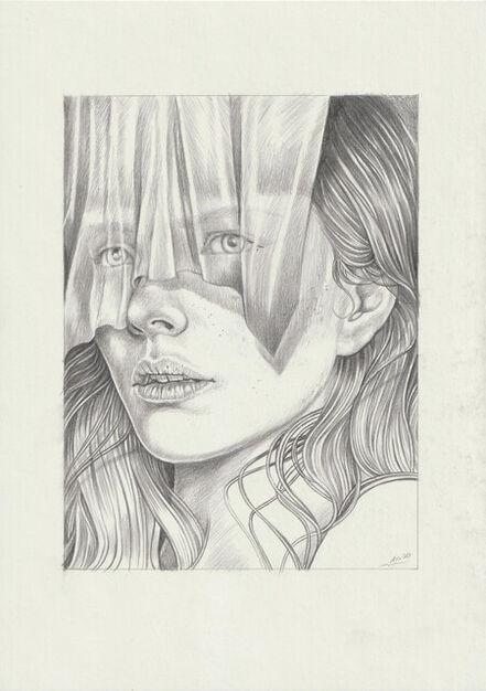 Martine Johanna, 'The Veil (drawing)', 2021