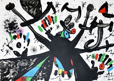 Joan Miró, 'Homentage a Joan Prats', 1971