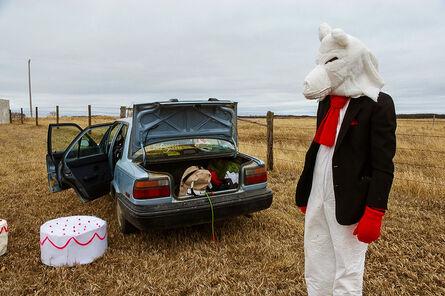 Amalie Atkins, 'Wolf with Stuntcake', 2008
