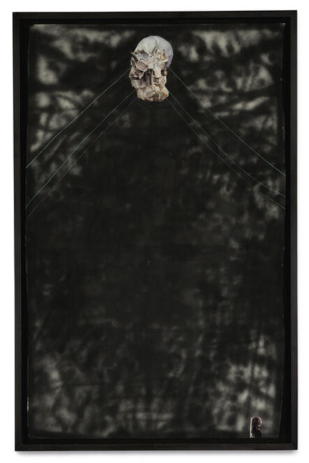 Sterling Ruby, 'Multiple Holes on the White Wall', 2007