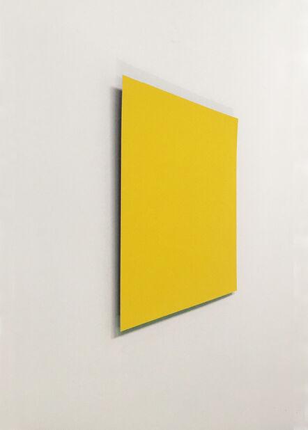 Susan York, 'Yellow:Violet', 2018