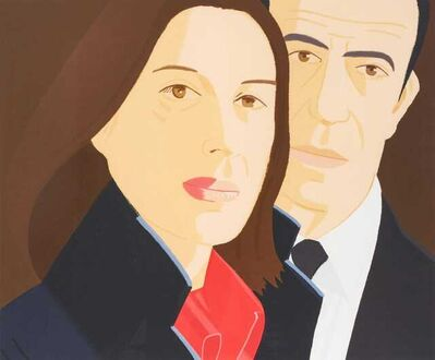 Alex Katz, 'Alex and Ada', 1984