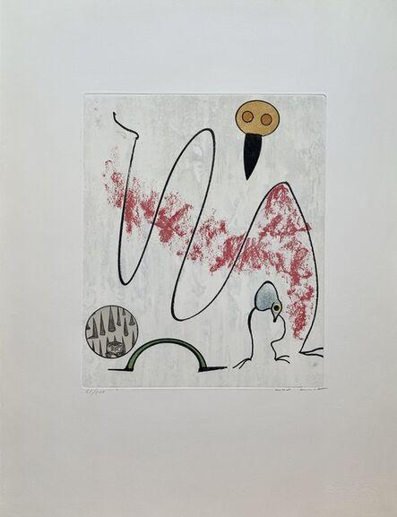 Max Ernst, 'Je suis un être oisif', 1975