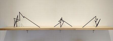 Robert Mangold (b. 1930), 'Burns Park Model', 1997