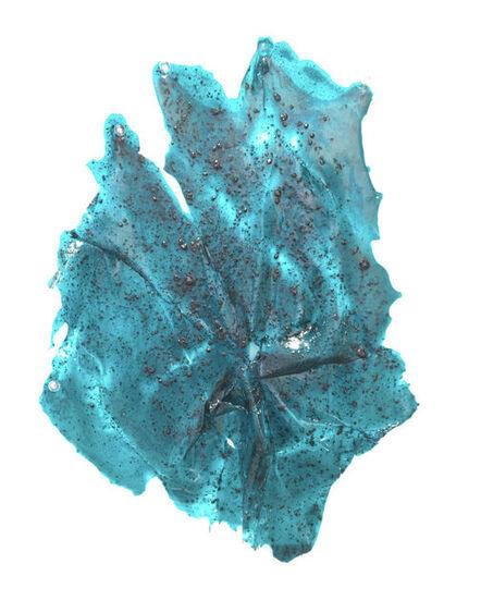 Lesley Bodzy, 'Turquoise Wall Rag', 2020