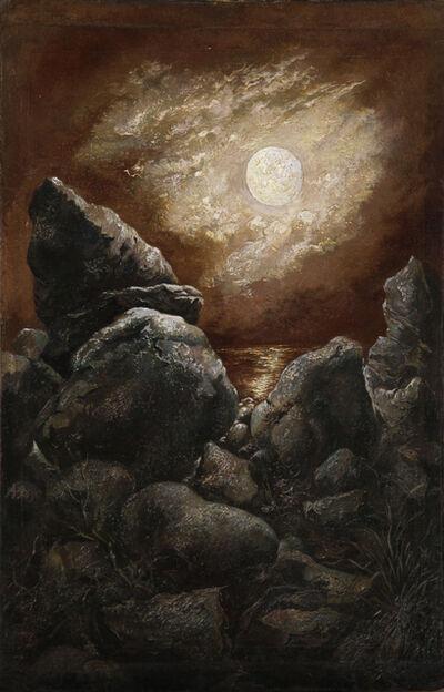George Grosz, 'Rocks at Bornholm, Denmark (Das Meer, die Felsen udn der immerwährende Mond)', 1940