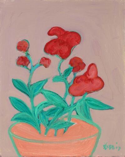 Zheng Zaidong, '窥花 Flower Series NO.3', 2017