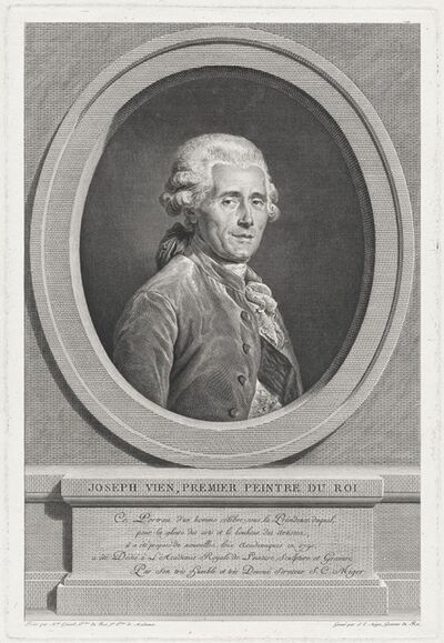 Simon Charles Miger after Adélaïde Labille-Guiard, 'Joseph Vien', in or after 1790