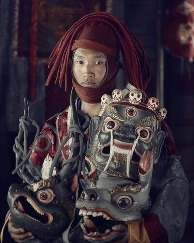 Jimmy Nelson, 'XXIX 4   Mask dancer,  Paro, Bhutan 2016 ', 2016