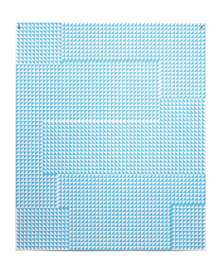 Giulia Ricci, 'ALTERATION/DEVIATION, Light Blue #6', 2020