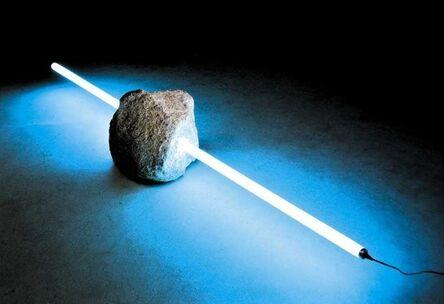 Tatsuo Kawaguchi, 'Stone and Light', 1989
