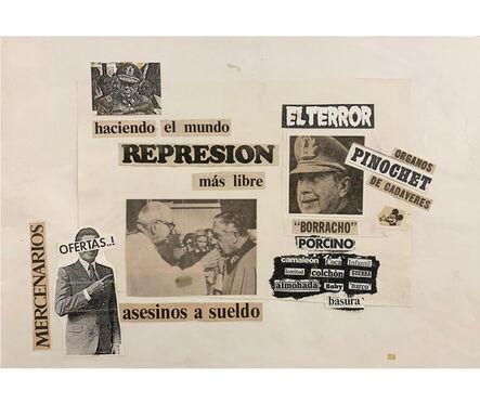 Herbert Rodríguez, 'El terror', 1987