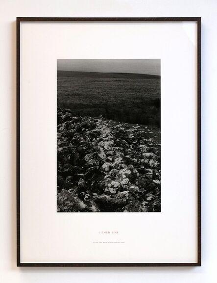 Richard Long, 'Lichen Line: A 5 Day Walk in Mid-Wales', 2002