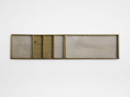 Carlos Nogueira, 'casa comprida com cinco lugares | long house with five places (diptych)', 2015