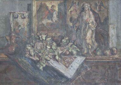 BRANKO KOVAČEVIĆ, 'Still Life with Icons', 1950