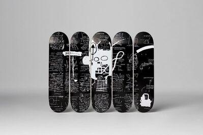 "Jean-Michel Basquiat, 'BASQUIAT ""DEMONS"" SET OF FIVE SKATE DECKS', 2016"