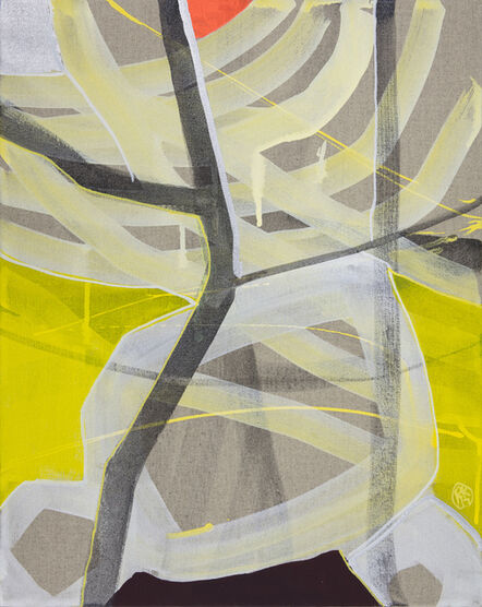 Rachelle Krieger, 'Small Landscape with Light Rays 1', 2017