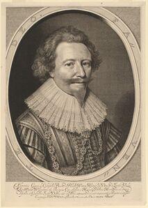 Willem Jacobsz Delff after Michiel van Miereveld, 'Florent II, Count of Pallandt', in or after 1627