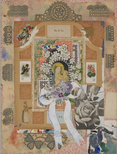 Joe Brainard, 'Madonna with Flowers IV', 1966