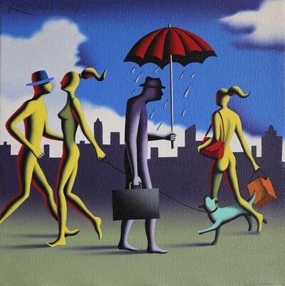 Mark Kostabi, 'Mr. Wonderful', 2009