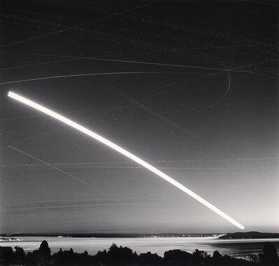 Michael Kenna, 'Harvest Moon over Puget Sound, Seattle, USA', 2013