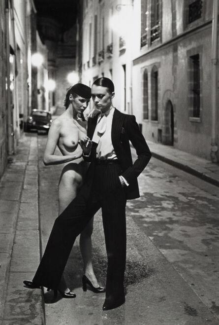 Helmut Newton, 'Rue Aubriot, Paris 1975', 1975