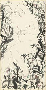 Yu Peng (TAIWANESE, 1955-2014), 'Nude', 1990