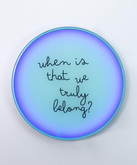 Karen Navarro, 'When is that we truly belong?', 2021