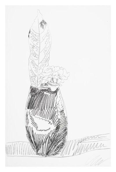 Andy Warhol, 'Flower (Black & White)', 1974