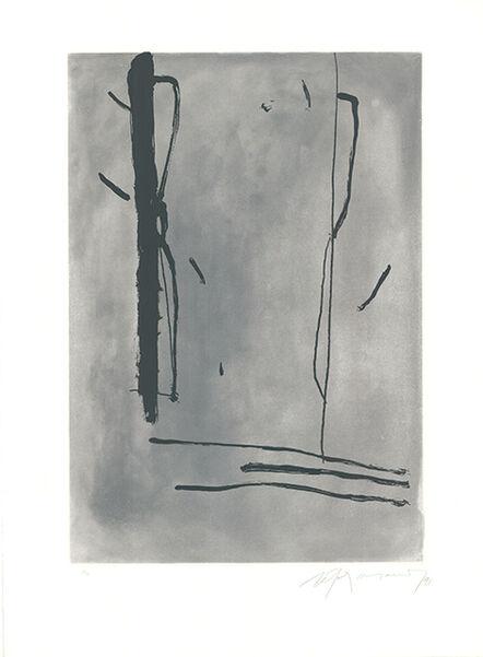 Albert Ràfols-Casamada, 'Signe i color-1', 1991