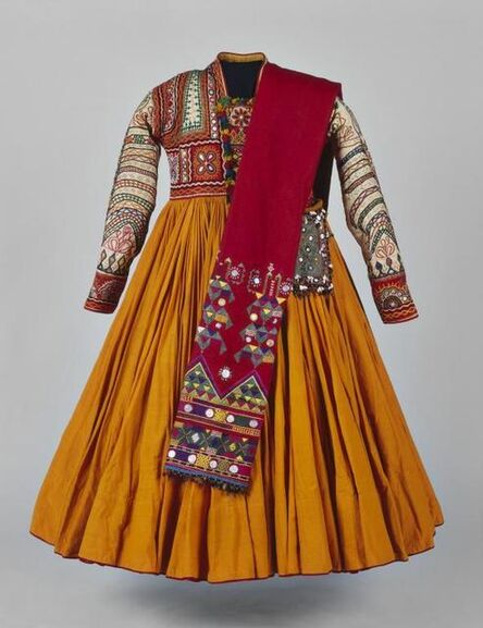 """'Princess gown from the film """"Le Mahabharata""""'"""