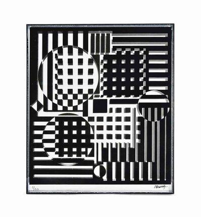 Victor Vasarely, 'Pleionne', 1990