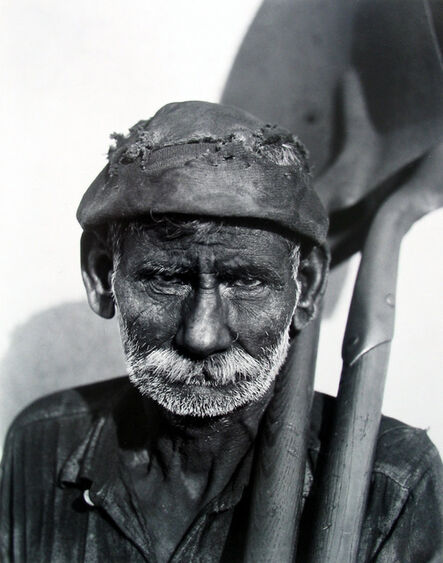 Walker Evans, 'Coal Dock Worker, Havana', 1932
