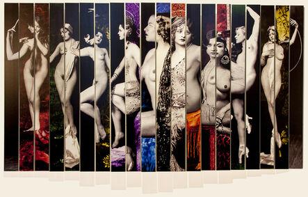 Susan Weil, 'Ziegfeld Girls', 2016