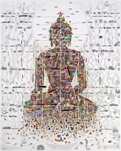Gonkar Gyatso, 'Buddha in Our Time', 2010