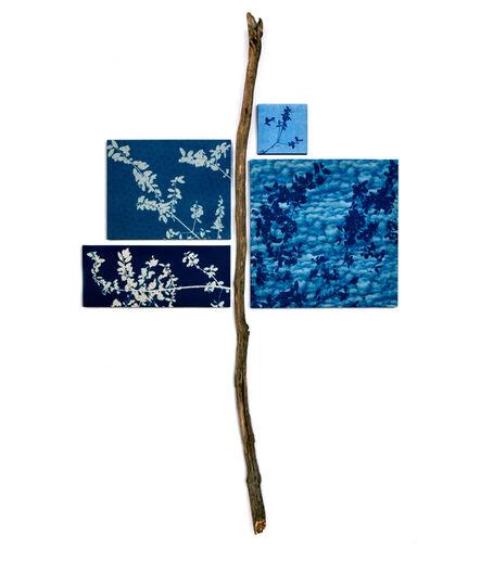 Susan Weil, 'Leafing Blue', 2019