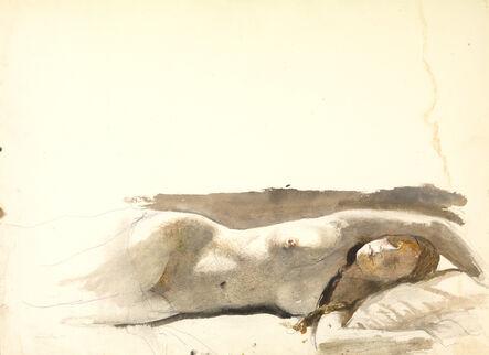 Andrew Wyeth, 'Overflow Study', 1978