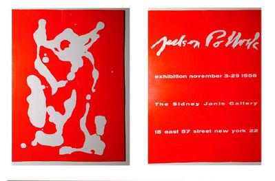 Jackson Pollock, 'Exhibition Catalog- Sidney Janis Gallery NY', 1958