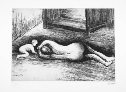 Henry Moore, 'Mother And Child XV', 1983