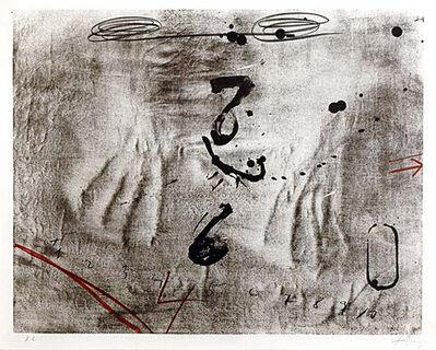 Antoni Tàpies, 'Empreintes de mains', 1980