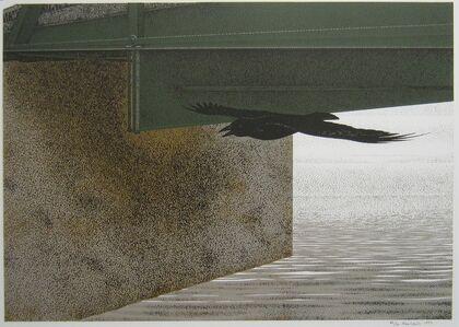 Alex Colville, 'Bridge and Raven', 1993