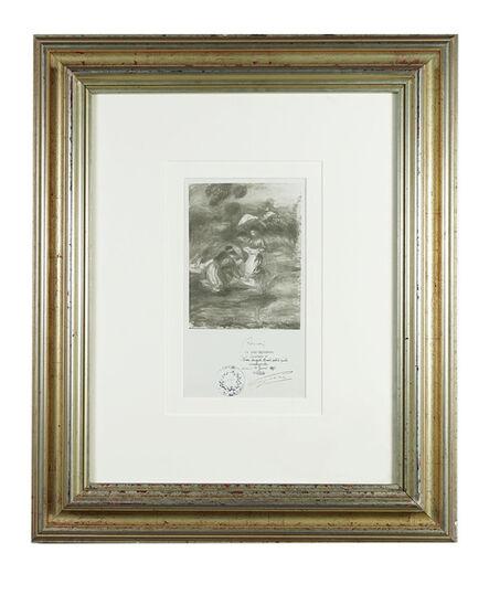 Pierre-Auguste Renoir, 'Original photograph ', 10nth January-1911