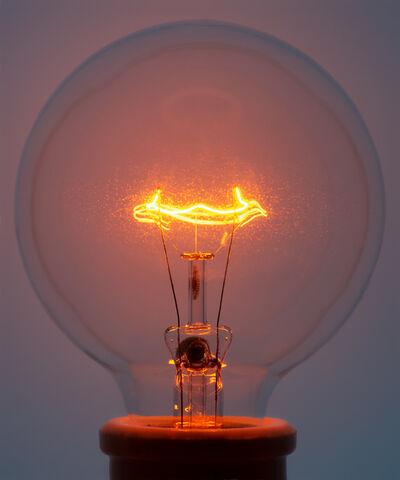 Amanda Means, 'Light Bulb 2 Orange', 2018