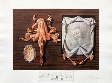 Salvador Dalí, 'LES SPOUTNIKS ASTIQUES ELASTICOTS STATISTIQUES', 1971