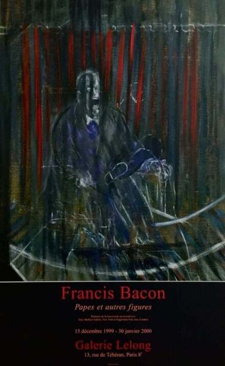Francis Bacon, 'Pope Innocent XII, Galerie Lelong Exhibition Poster', 1999
