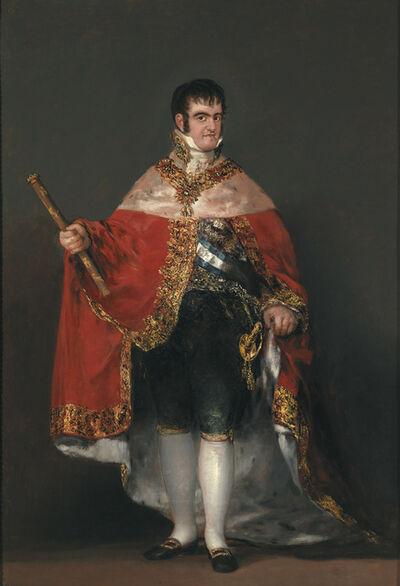 Francisco de Goya, 'Ferdinand VII in Court Dress', 1814-1815