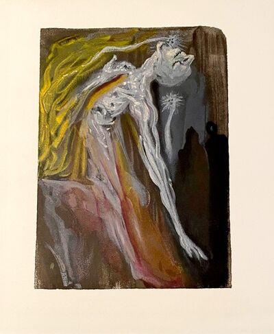 Salvador Dalí, 'La Divine Comédie - Enfer 09 - Les Erynnies', 1963
