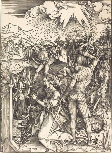 Albrecht Dürer, 'The Martyrdom of Saint Catherine', ca. 1497/1499