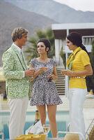 Slim Aarons, 'Poolside Fashions', 1970